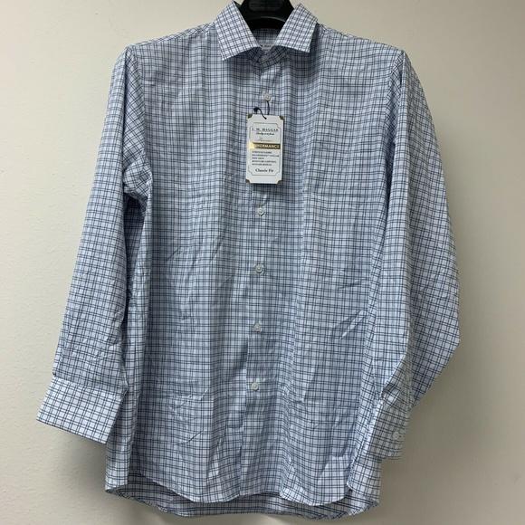 Haggar Other - J.M. Haggar Men's Classic Fit Dress Shirt